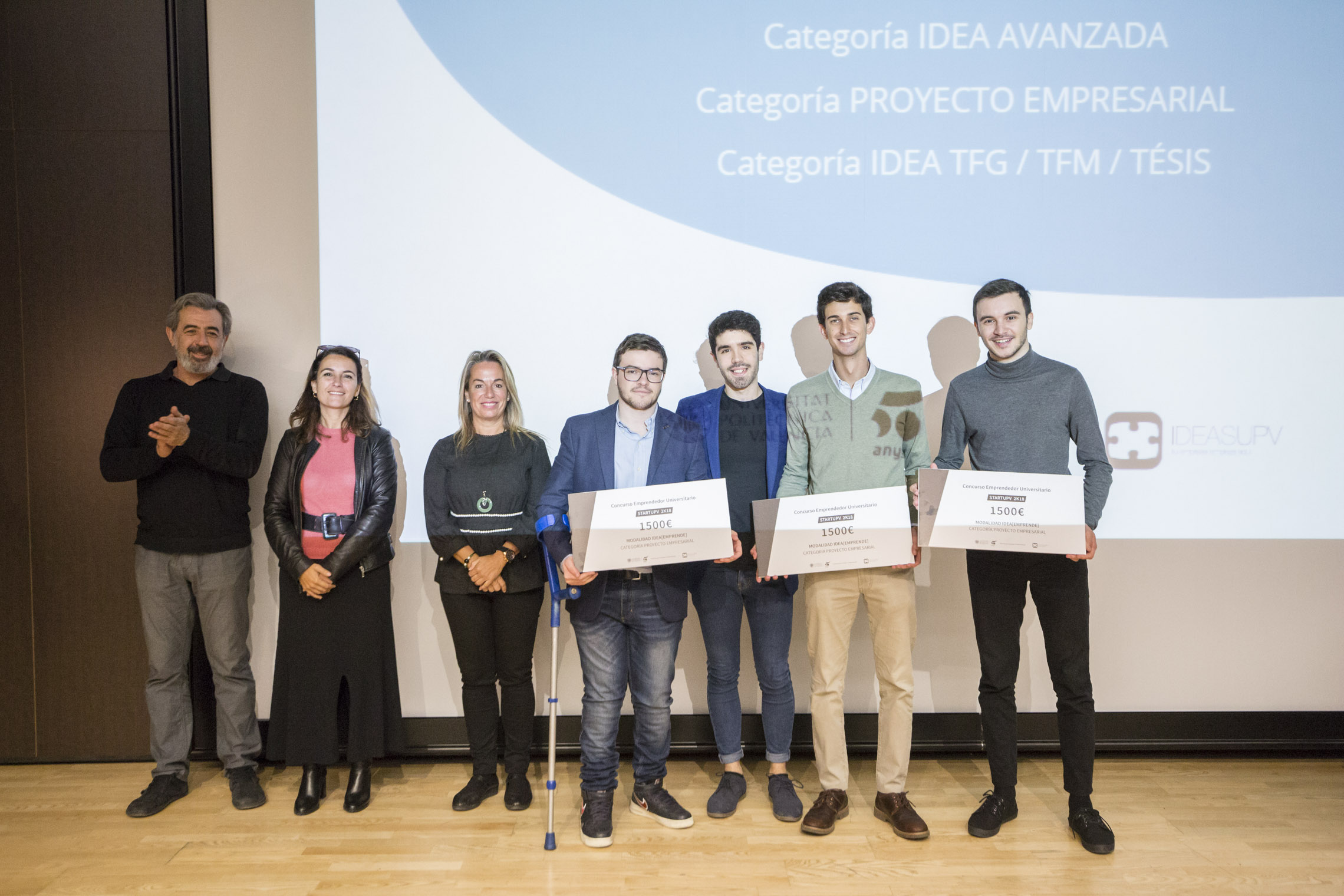 Radian, rewarded as Best Business Idea by TU Valencia